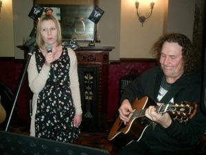 Hayley and Mark - Open Mic 2nd Feb 2014.jpg