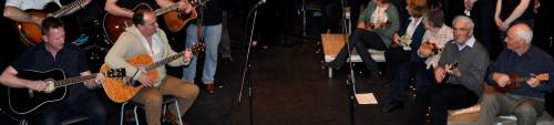 guitar and uke
